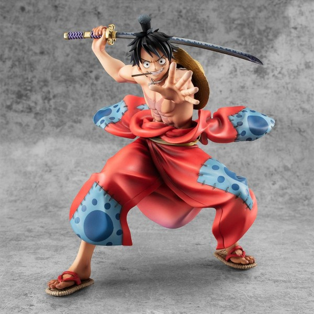 Figurine Luffy Taro P.O.P. Warriors Alliance