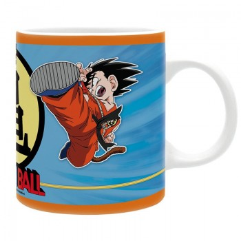 Mug porcelaine Goku Enfant vs Krilin - Dragon Ball