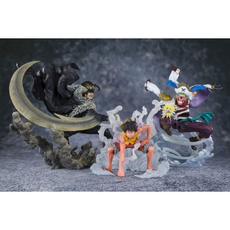 Monkey D. Luffy Figuarts Zero (Paramount War) Bandai