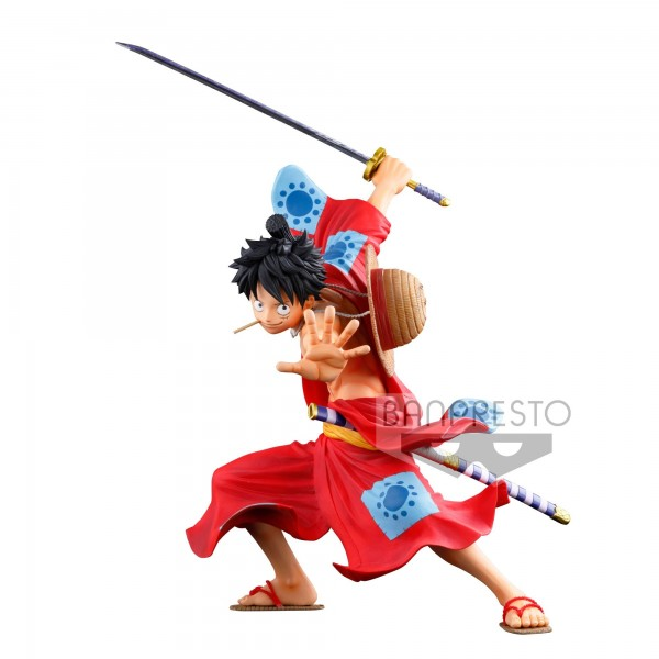 Figurine Luffy Super Master Stars Piece BWFC 3
