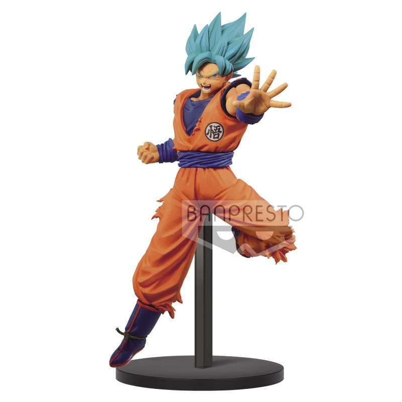 Figurine Goku God Blue Chosenshi Retsuden Vol. 4 : Chapter 1