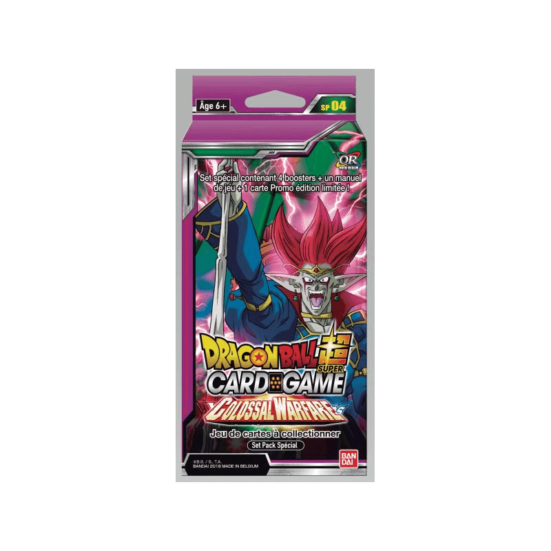 Dragon Ball Super Card Game Pack Special Colossal Warfare