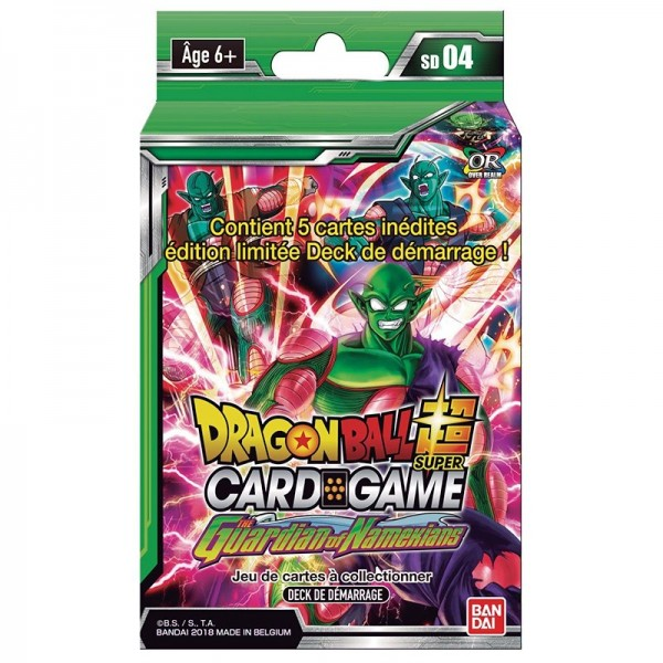 Starter 4 Dragon Ball Super Card Game The Guardian of Namekians
