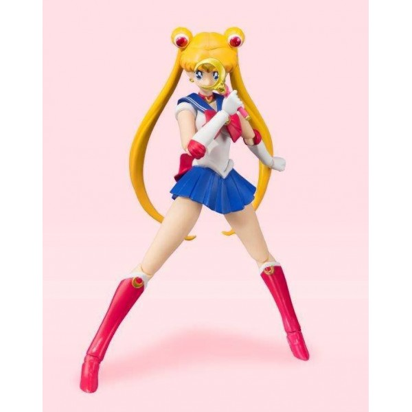 Sailor Moon figurine S.H. Figuarts Sailor Moon Animation Color Edition 14 cm