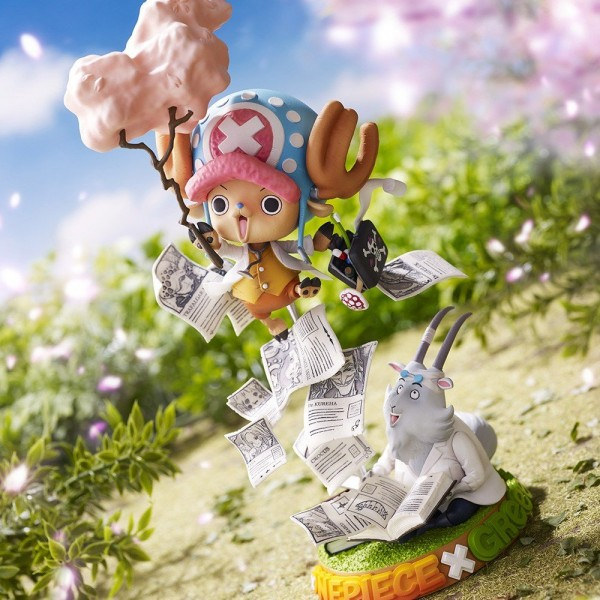 Diorama Chopper Collaboration figure ~Challenge From Greeeen~