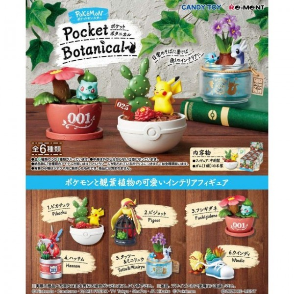 Pokemon Pocket Botanical figurines
