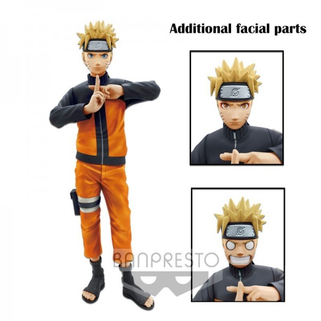 Figurine Naruto Uzumaki Grandista Nero