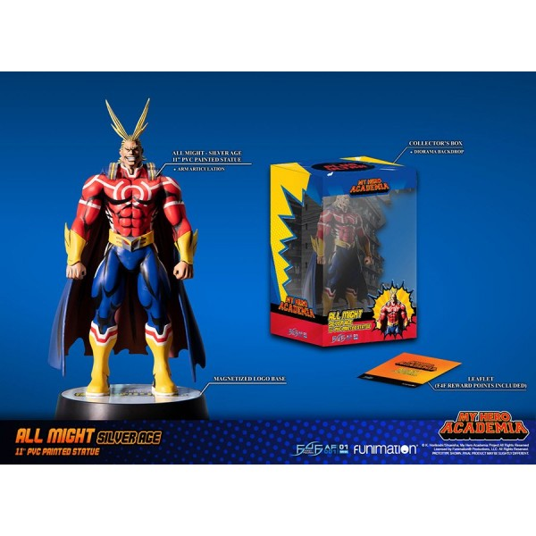 All Might Silver Age (Standard Edition) First 4 Figure