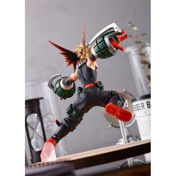 My Hero Academia statuette PVC Pop Up Parade Katsuki Bakugo: Hero Costume Ver. 16 cm