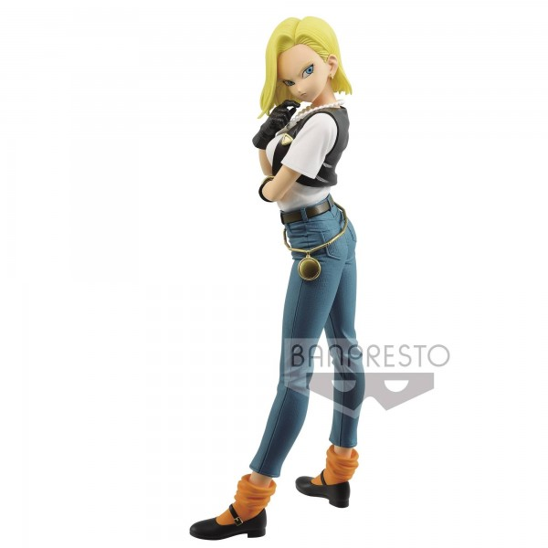 Figurine C-18 (Android 18) Glitter & Glamours Vol.3