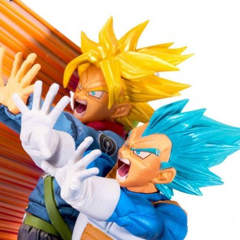 Vegeta & Trunks Diorama