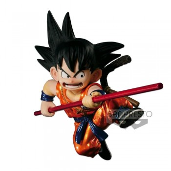 Scultures Young Son Goku Metallic