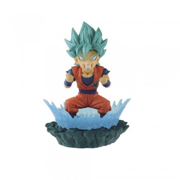 Figurine Goku God Blue World Collectable Diorama Vol. 1 (WCD)