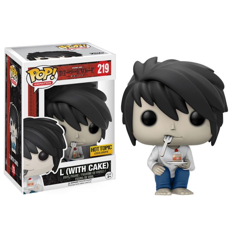 Funko POP! L (With Cake) Exclusive
