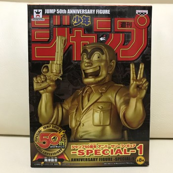 Figurine Kankichi Ryotsu Jump 50th Anniversary Gold Version