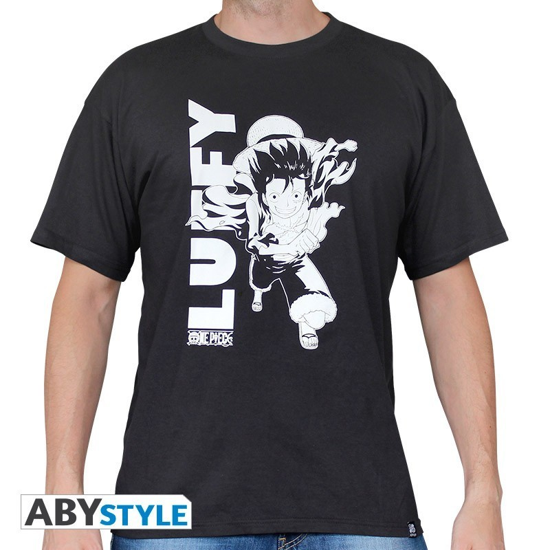 T-Shirt Luffy Runing (Homme) One Piece