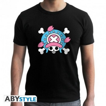 T-Shirt Skull Chopper (Homme) One Piece