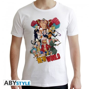 T-Shirt Groupe New World (Homme) One Piece