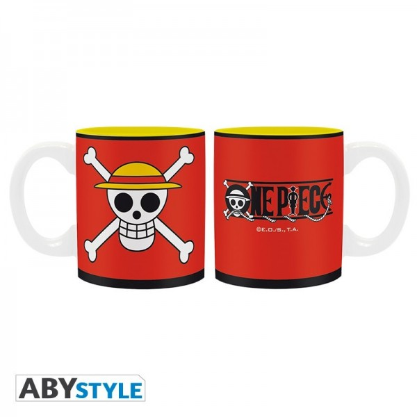 Box / Coffret Skull Luffy One Piece Mug