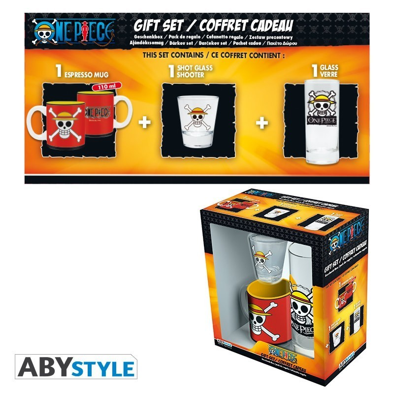 Box / Coffret Skull Luffy One Piece