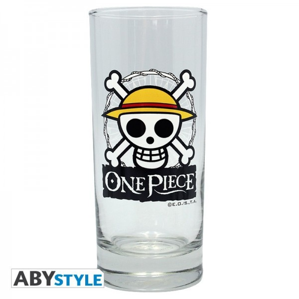 Box / Coffret Skull Luffy One Piece Verre