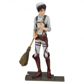 Figurine Eren Yeager Cleaning DXF