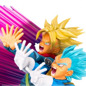 Vegeta & Trunks Master Stars Diorama The Brush 2