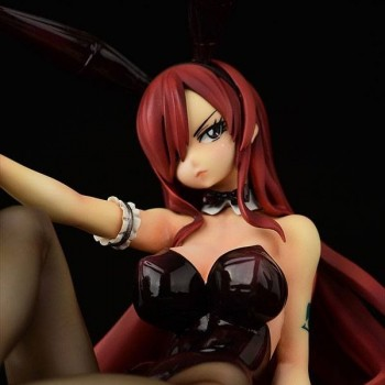 Erza Scarlet Bunny Girl Style
