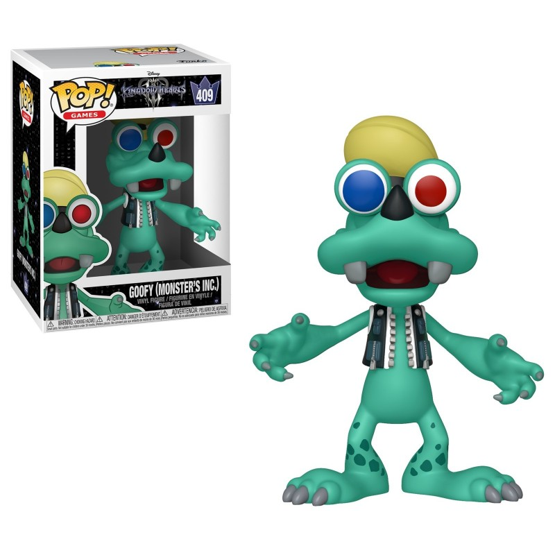 Figurine Funko POP! Goofy (Monster's Inc) (409)