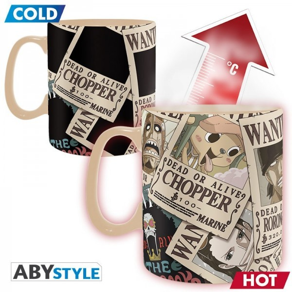 Mug Heat Change  - One Piece