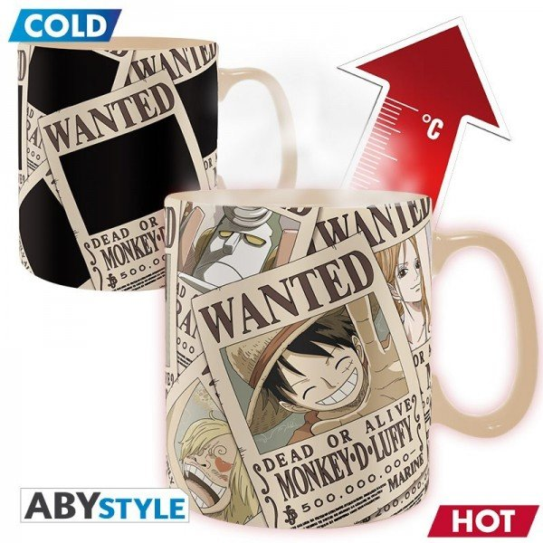 Mug magique Wanted  - One Piece
