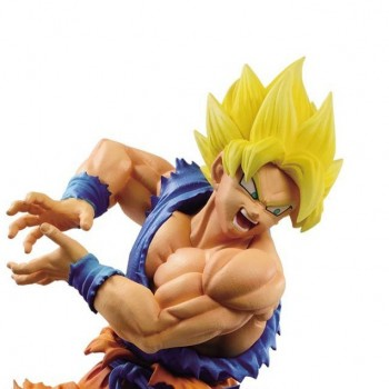 Goku Super Saiyan God Blue Z-Battle (Ichiban Kuji)