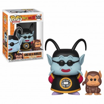 King Kai (Kaïo) & Bubbles (531) Funko POP!