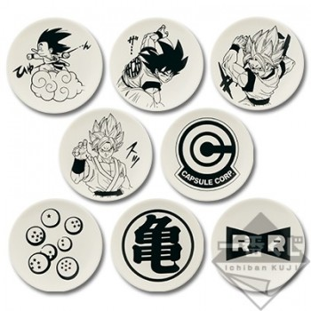 Lot E Assiette - Ichiban Kuji Dragon Ball Memories
