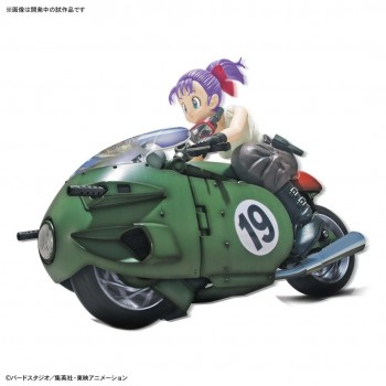 Bulma Transformable No.19 Bike Figure-rise Mechanics