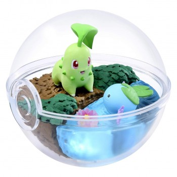 Germignon & Axoloto Terrarium Pokemon Collection 5
