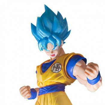 Goku SSJ God Blue Figure-rise (Special Color)
