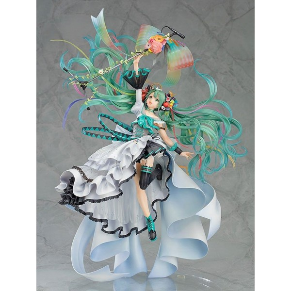 Statuette Hatsune Miku Memorial Dress Ver.
