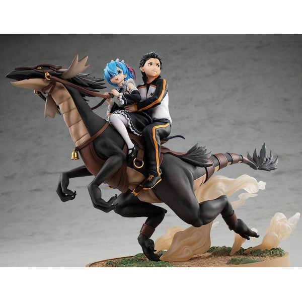 Figurine Rem & Subaru: Attack on the White Whale