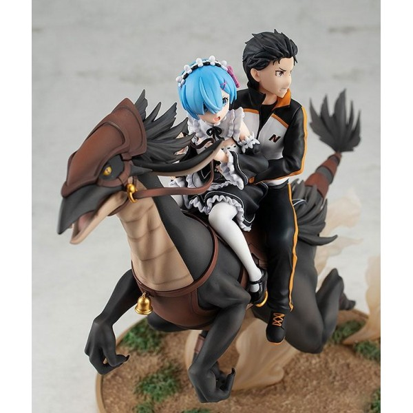 Diorama Rem & Subaru: Attack on the White Whale