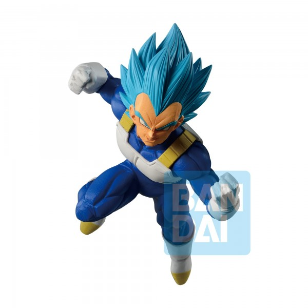 Figurine Vegeta SSJ God Blue Ichibansho ~DOKKAN BATTLE~